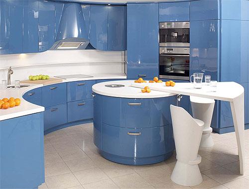 Планировка дизайна кухни