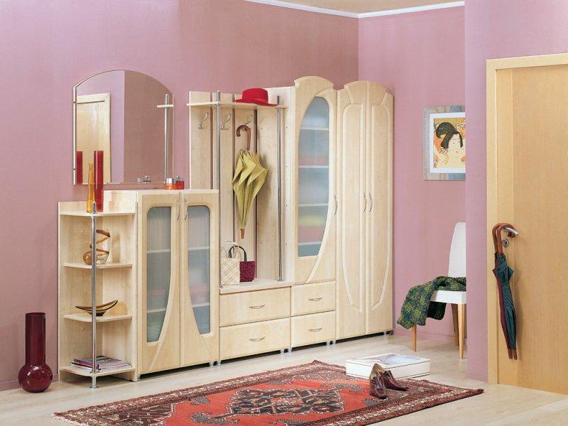 Набор мебели для прихожей элегант