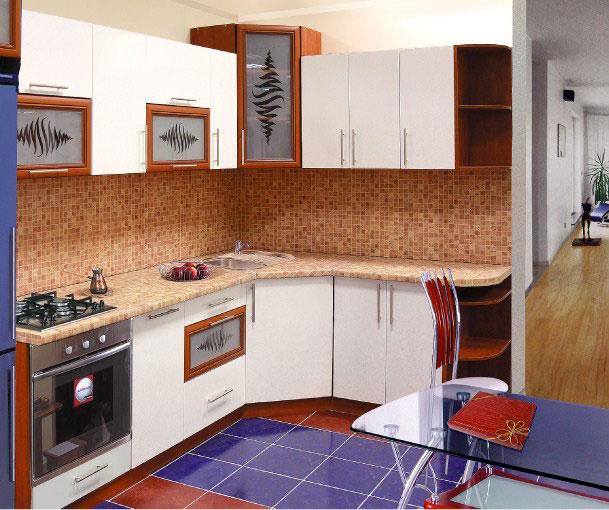 Описание мебель для кухни в 5